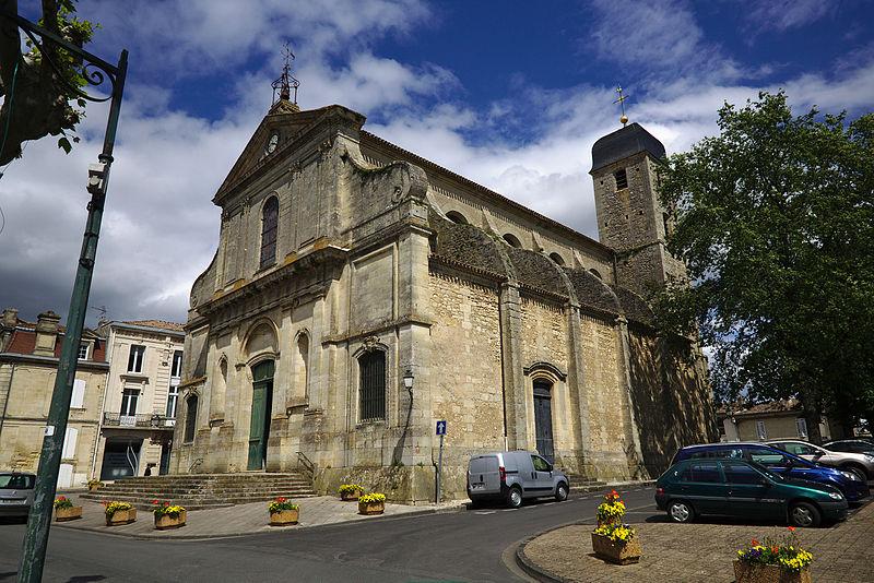Photo du Monument Historique Eglise Saint-Symphorien situé à Castillon-la-Bataille