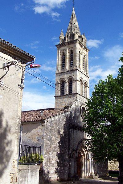 Photo du Monument Historique Eglise Saint-Martin situé à Cérons