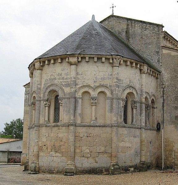 Photo du Monument Historique Eglise Saint-Pierre situé à Civrac-en-Médoc