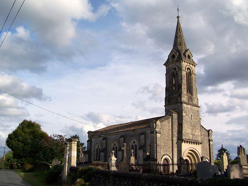Photo du Monument Historique Eglise Saint-Martin situé à Coirac