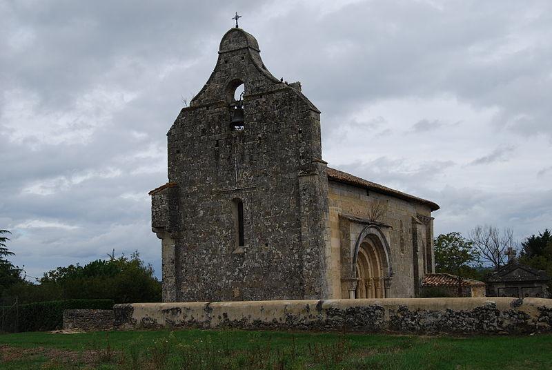 Photo du Monument Historique Eglise Saint-Christophe situé à Courpiac