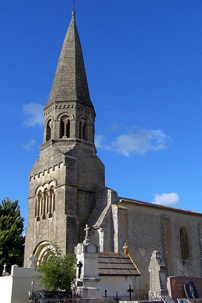 Photo du Monument Historique Eglise Saint-Cibard situé à Coutures