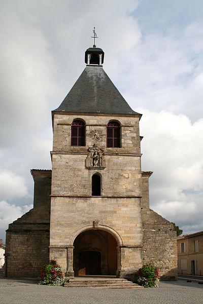 Photo du Monument Historique Eglise Notre-Dame situé à Créon