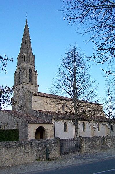 Photo du Monument Historique Eglise Saint-Jean l'Evangéliste situé à Cudos