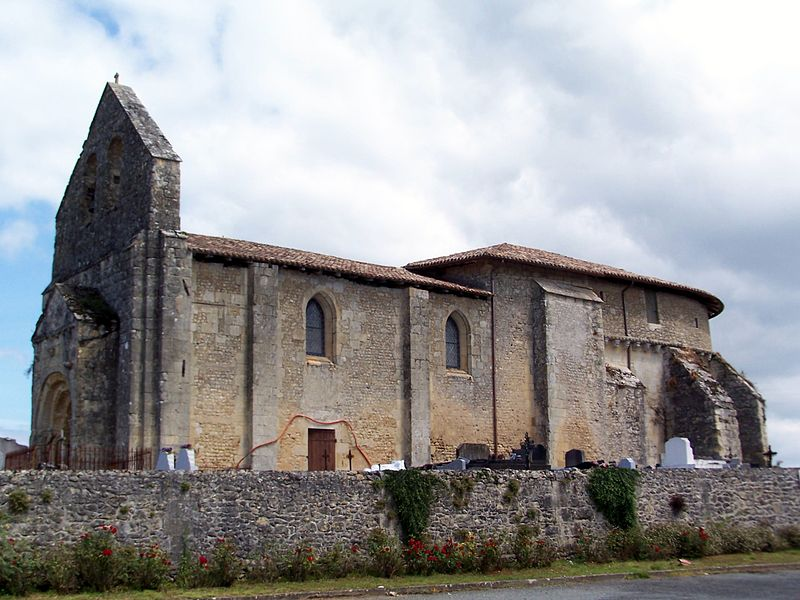 Photo du Monument Historique Eglise Notre-Dame situé à Doulezon