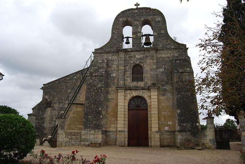 Photo du Monument Historique Eglise Saint-Gervais et Saint-Protais situé à Faleyras