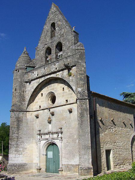 Photo du Monument Historique Eglise Saint-Front situé à Fontet