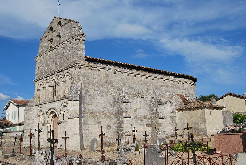 Photo du Monument Historique Eglise Saint-Martin situé à Francs