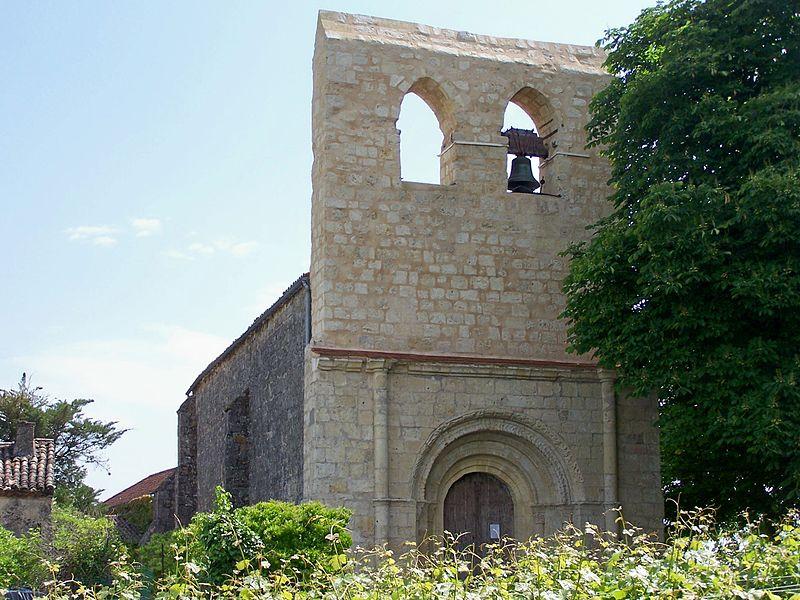 Photo du Monument Historique Eglise Saint-Seurin situé à Gabarnac