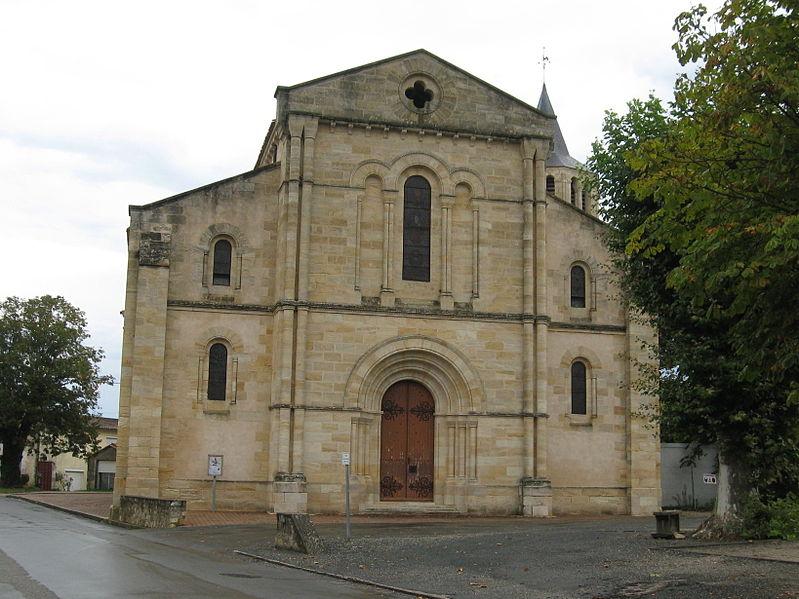 Photo du Monument Historique Eglise Saint-Pierre situé à Gaillan-en-Médoc