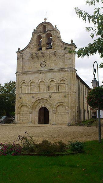 Photo du Monument Historique Eglise Saint-Seurin situé à Galgon