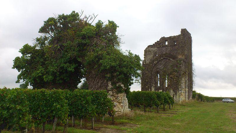 Photo du Monument Historique Eglise Saint-Seurin de Queynac situé à Galgon