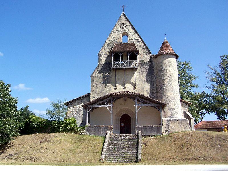 Photo du Monument Historique Eglise Saint-Antoine situé à Goualade