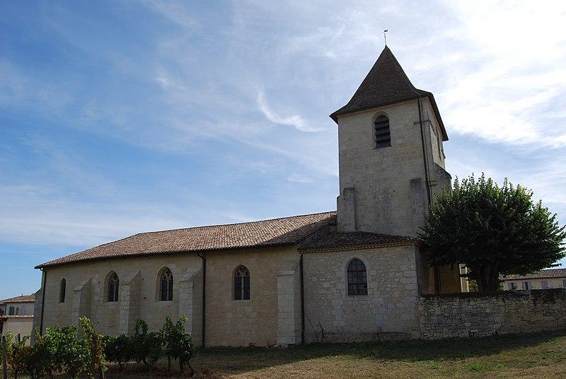 Photo du Monument Historique Eglise Notre-Dame situé à Grézillac