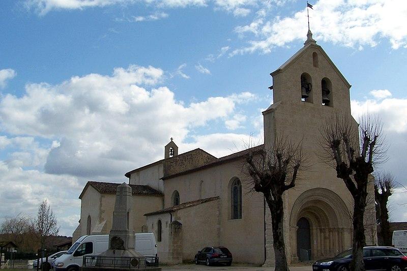 Photo du Monument Historique Eglise Saint-Laurent situé à Illats
