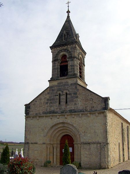 Photo du Monument Historique Eglise Saint-Martin situé à Lados