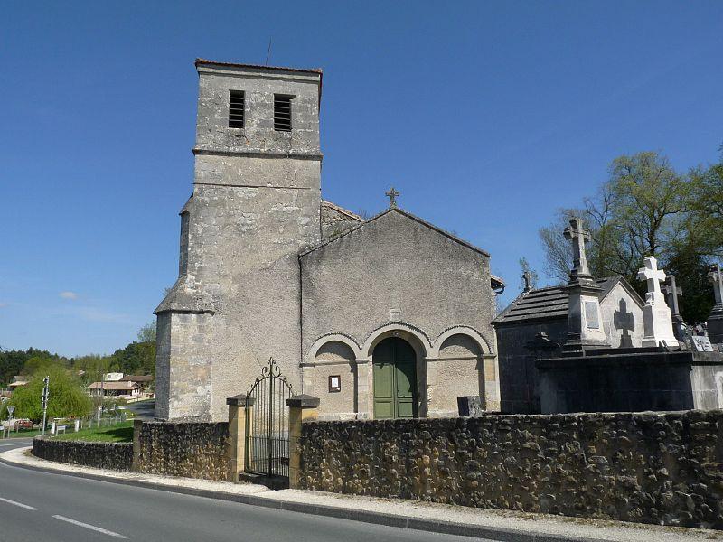 Photo du Monument Historique Eglise Saint-Pierre situé à Lagorce