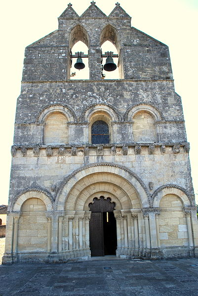 Photo du Monument Historique Eglise Saint-Jean situé à Lalande-de-Pomerol