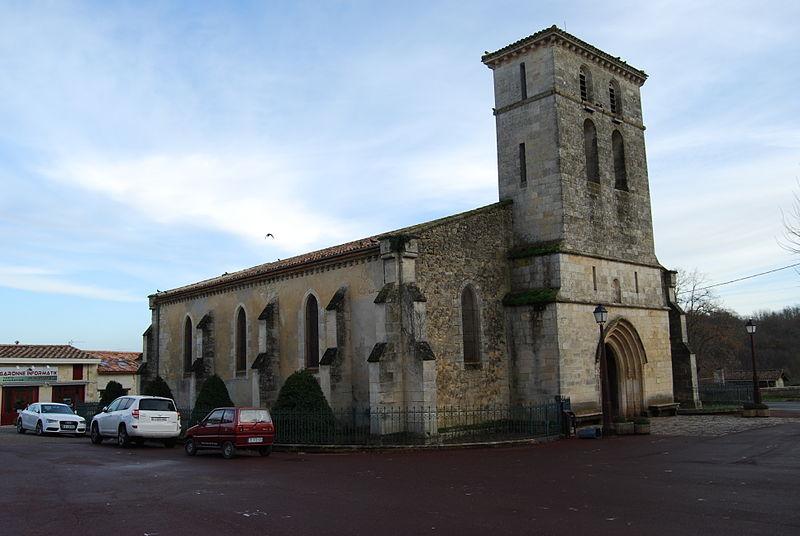 Photo du Monument Historique Eglise Saint-Aubin situé à Latresne