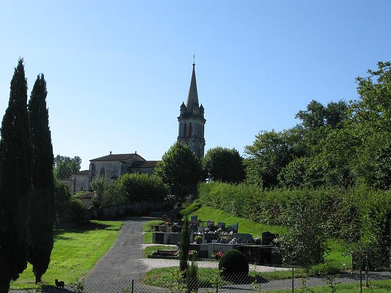 Photo du Monument Historique Eglise Sainte-Eulalie situé à Lignan-de-Bordeaux