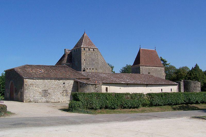 Photo du Monument Historique Château de Lavison situé à Loubens