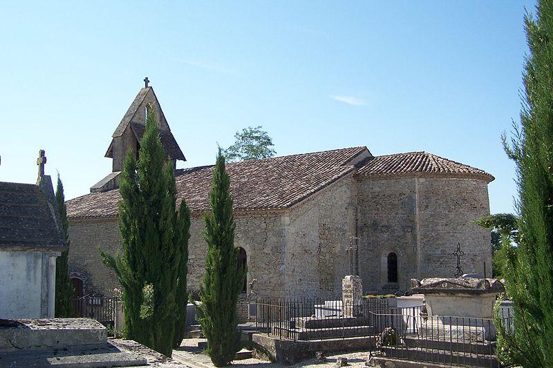 Photo du Monument Historique Eglise Saint-Vincent situé à Loubens