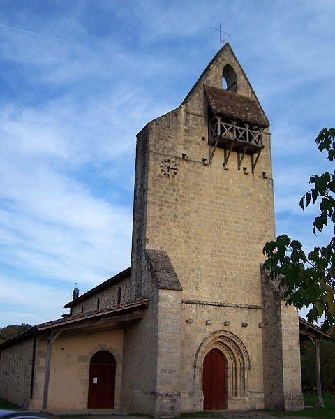 Photo du Monument Historique Eglise Saint-André situé à Lucmau