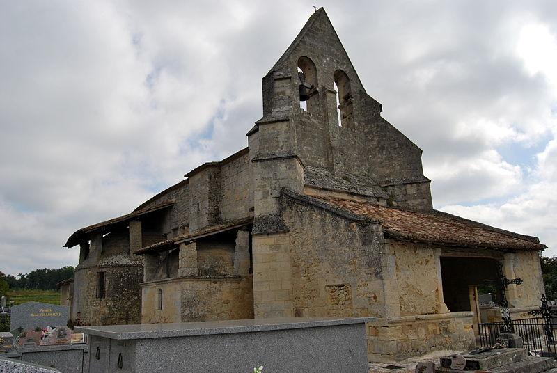 Photo du Monument Historique Eglise Saint-Martin situé à Lugaignac