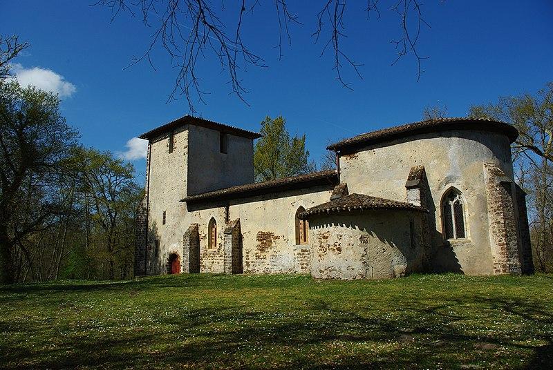 Photo du Monument Historique Eglise du Vieux Lugo situé à Lugos