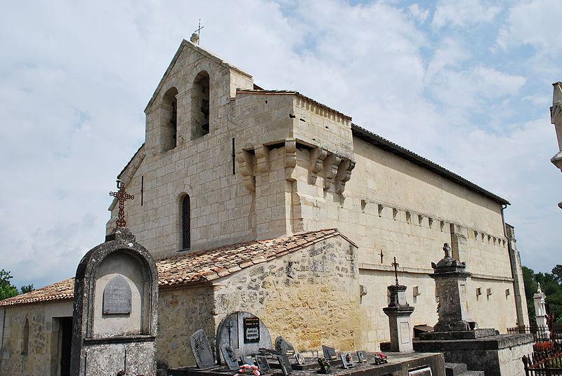 Photo du Monument Historique Eglise Notre-Dame situé à Marcenais