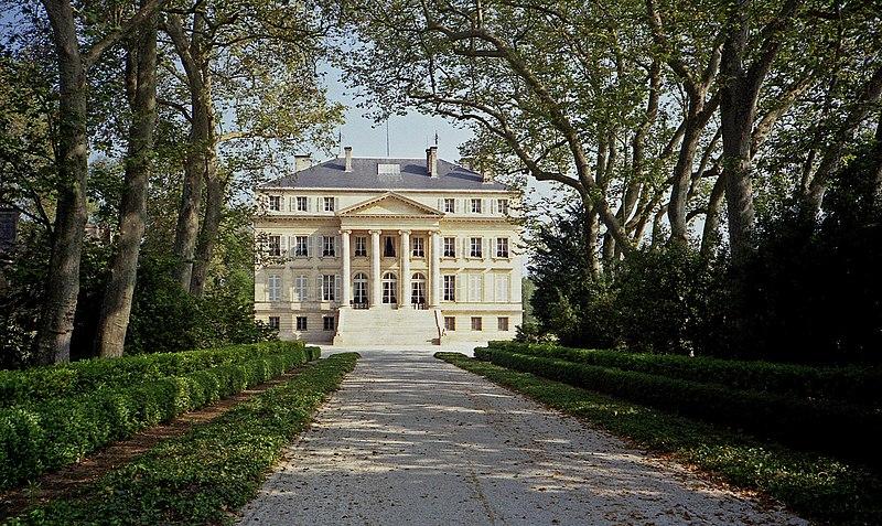 Photo du Monument Historique Château situé à Margaux