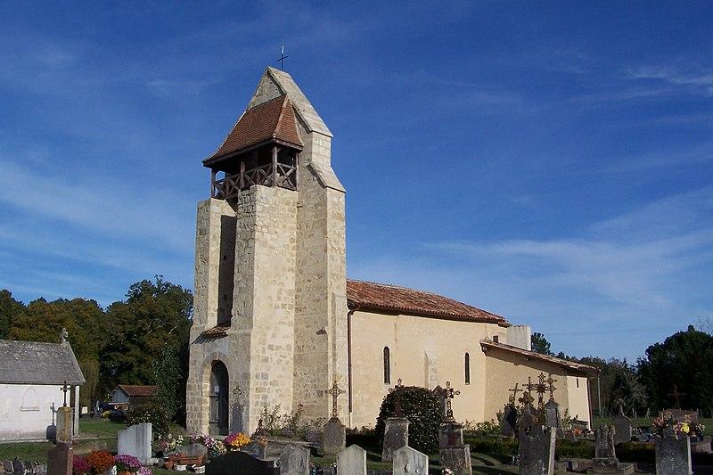 Photo du Monument Historique Eglise Saint-Vincent situé à Marimbault