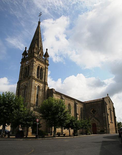 Photo du Monument Historique Eglise Sainte-Quitterie situé à Martillac