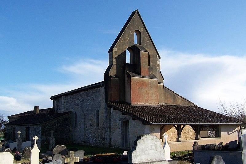 Photo du Monument Historique Eglise Saint-Martin situé à Masseilles