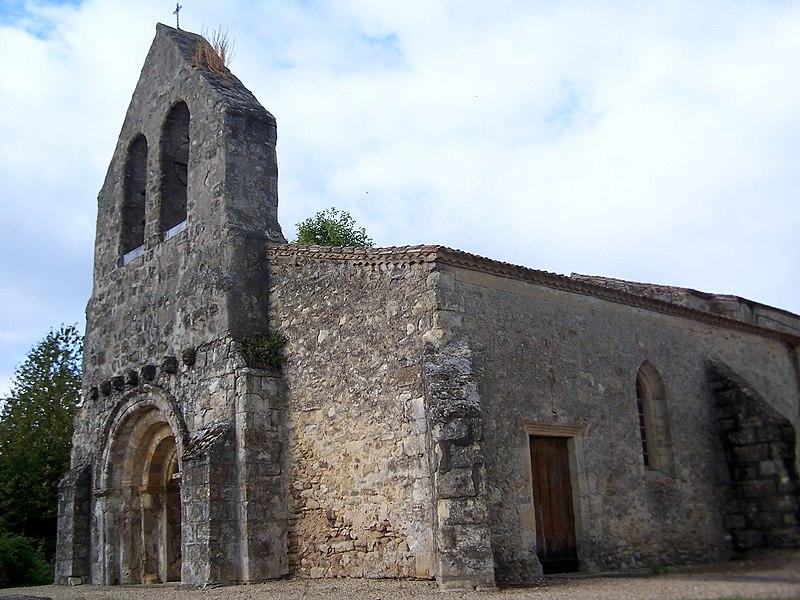 Photo du Monument Historique Eglise Notre-Dame situé à Massugas