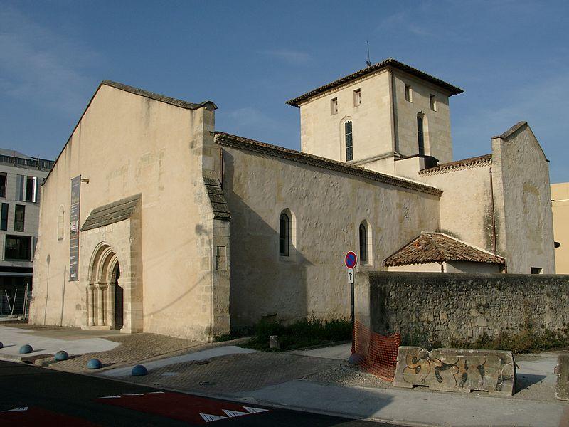 Photo du Monument Historique Ancienne église Saint-Vincent situé à Mérignac