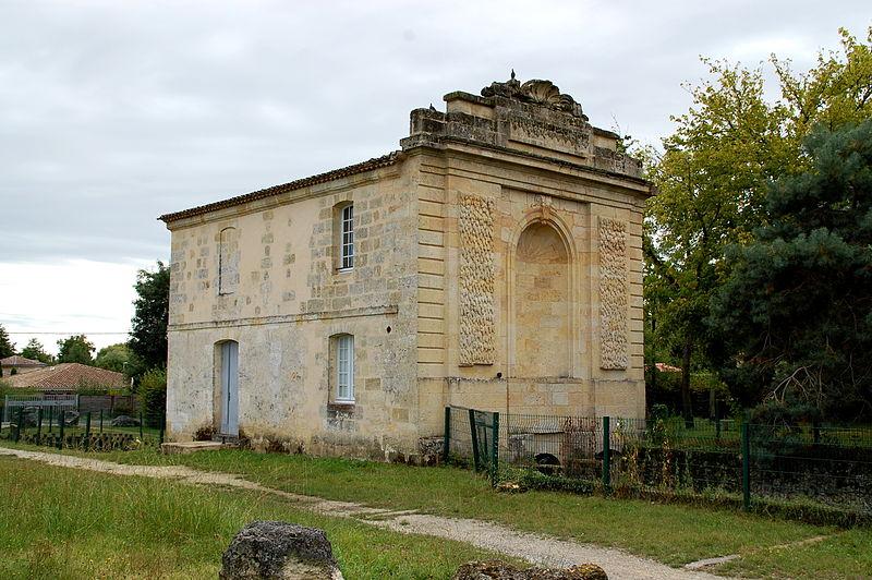 Photo du Monument Historique Moulin à eau de Noès situé à Mérignac