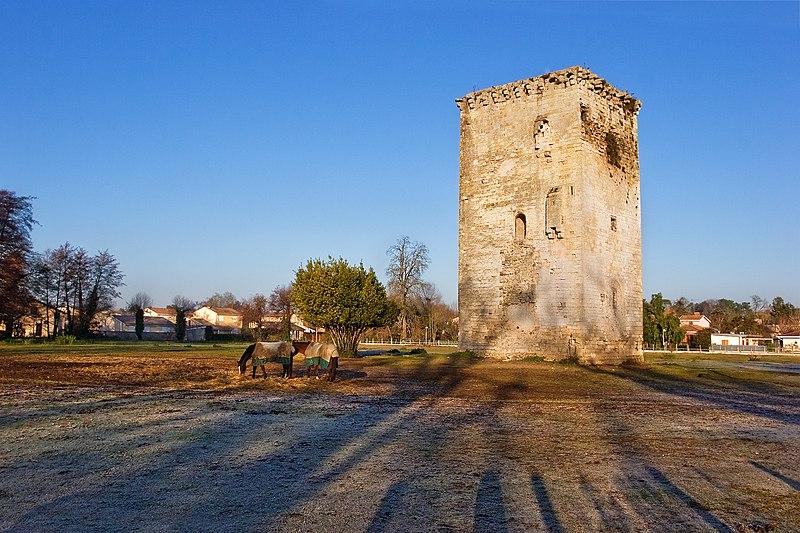 Photo du Monument Historique Tour de Veyrines situé à Mérignac