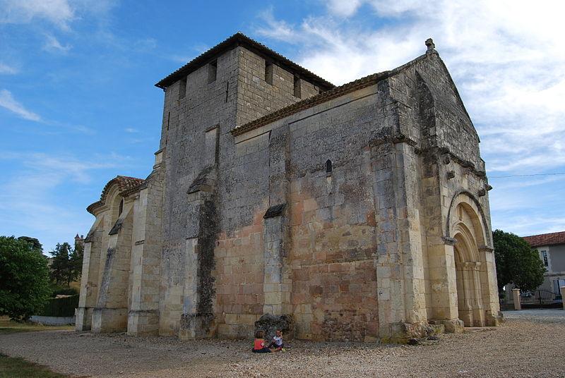Photo du Monument Historique Eglise Saint-Martin situé à Puisseguin