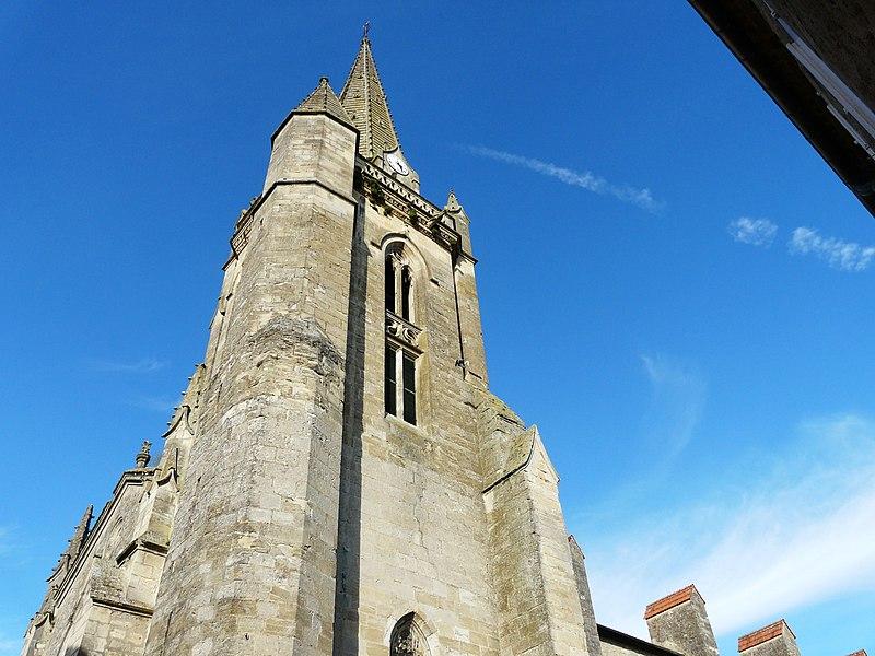 Photo du Monument Historique Eglise Notre-Dame situé à Monségur