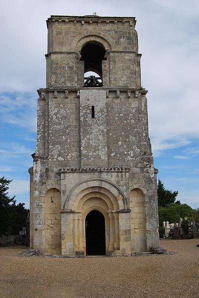 Photo du Monument Historique Eglise Notre-Dame de Parsac situé à Montagne