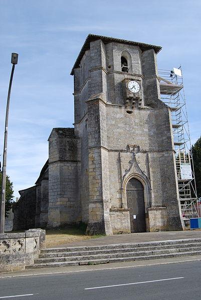 Photo du Monument Historique Eglise Saint-Martin situé à Nérigean