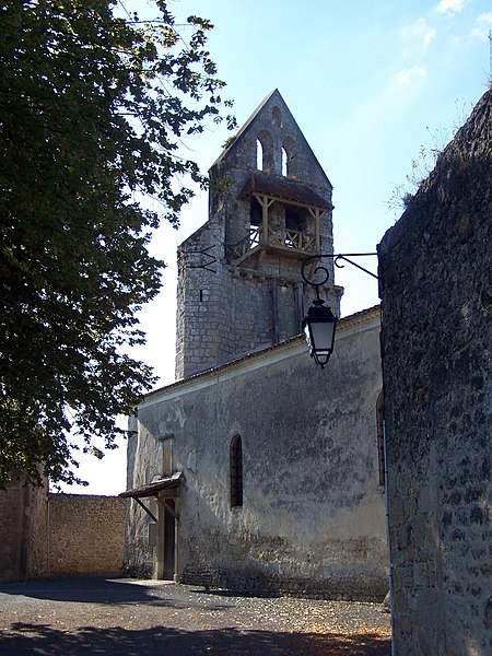 Photo du Monument Historique Eglise Saint-Vincent situé à Noaillan