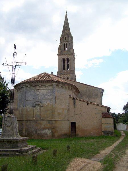 Photo du Monument Historique Eglise Saint-Hilaire situé à Paillet
