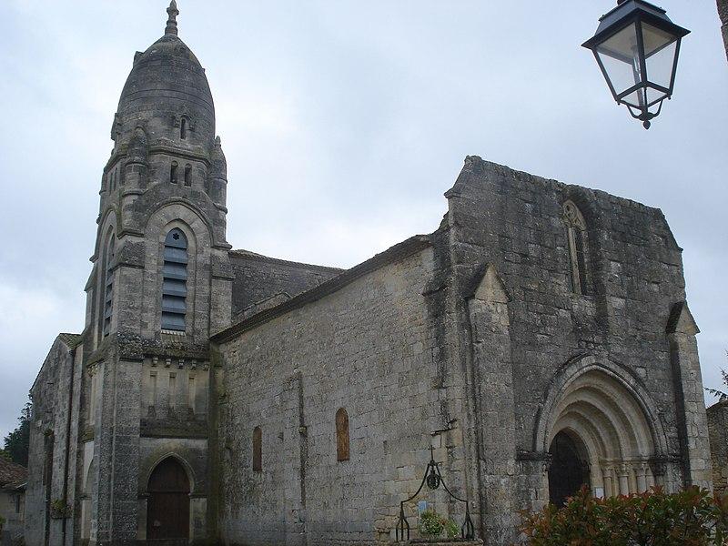 Photo du Monument Historique Eglise Saint-André situé à Pellegrue