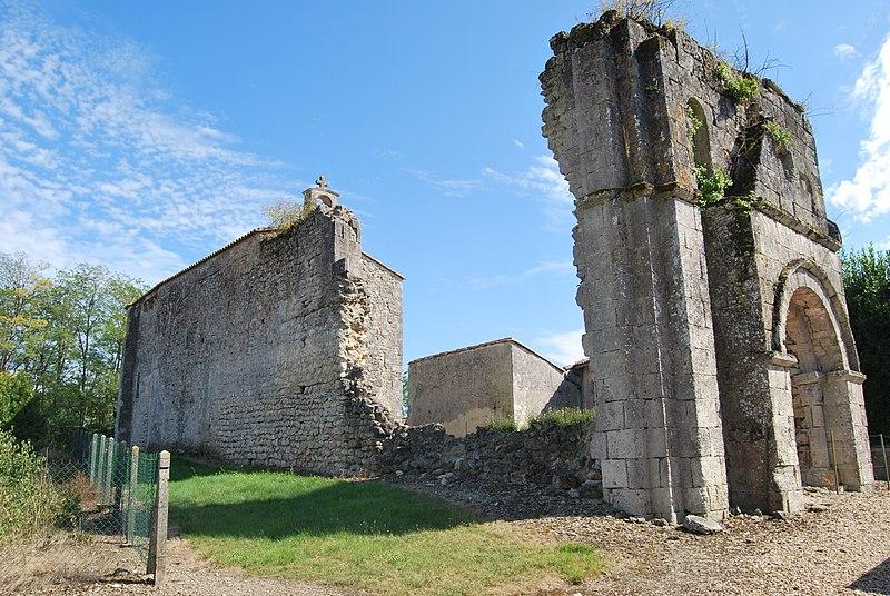 Photo du Monument Historique Eglise de Cornemps situé à Petit-Palais-et-Cornemps