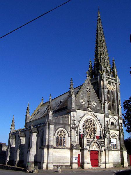 Photo du Monument Historique Eglise Saint-Vincent situé à Podensac