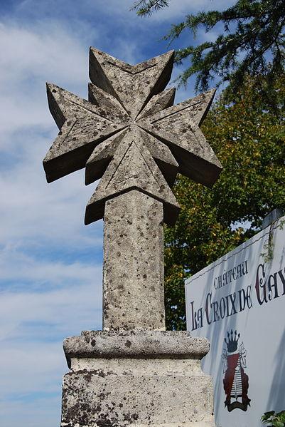 Photo du Monument Historique Croix de carrefour dite Croix de Gay situé à Pomerol
