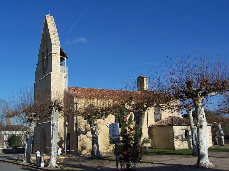 Photo du Monument Historique Eglise Saint-Pierre-ès-Liens situé à Préchac