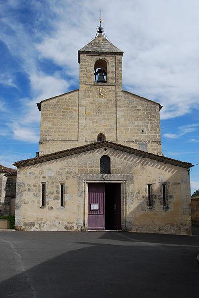 Photo du Monument Historique Eglise Saint-Pierre situé à Puisseguin